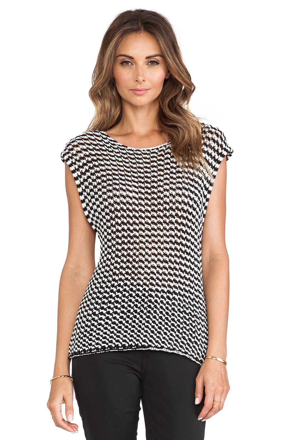 Trina Turk Avena Top in Black