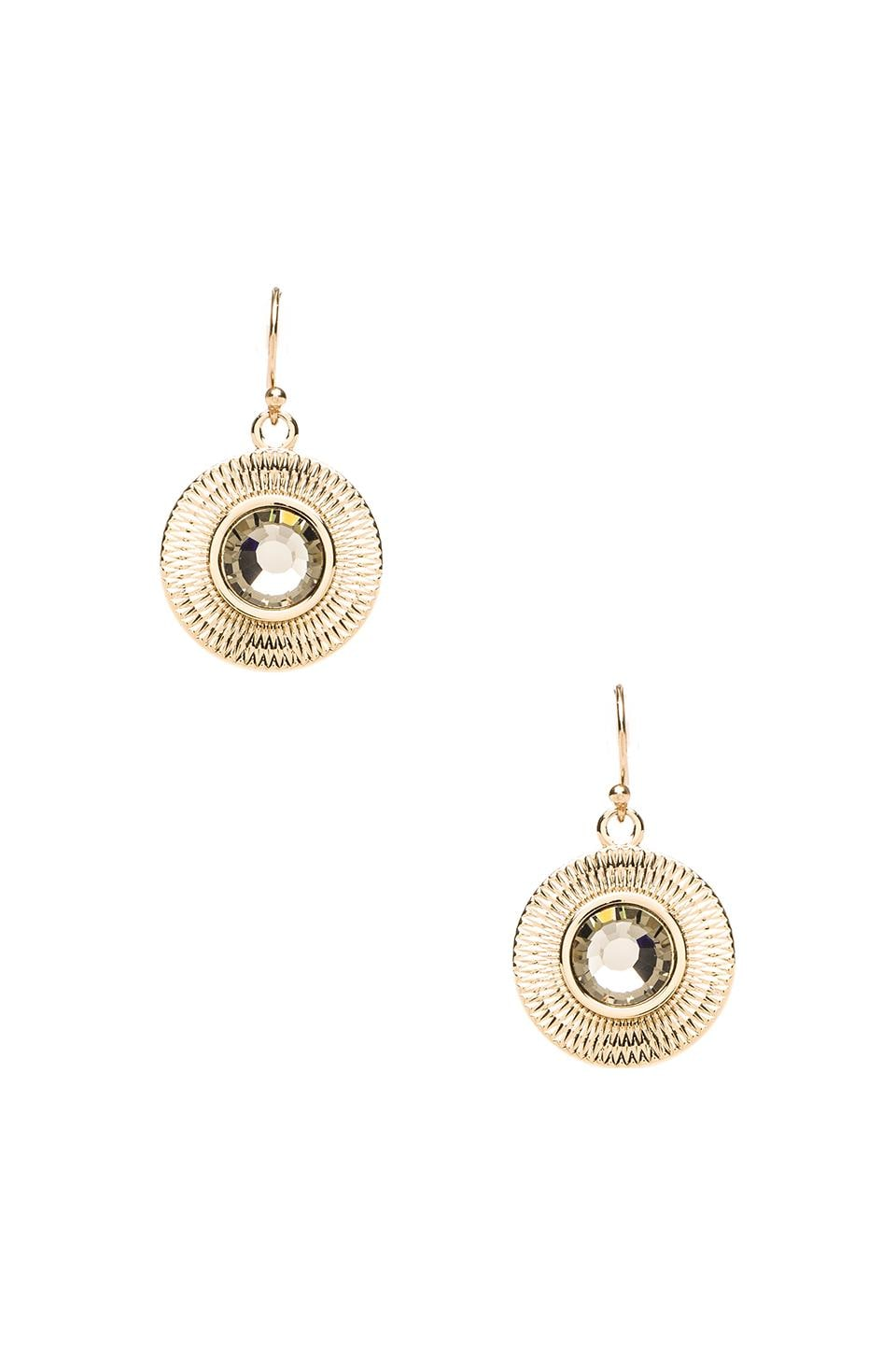 Trina Turk Sunburst Earrings in Gold