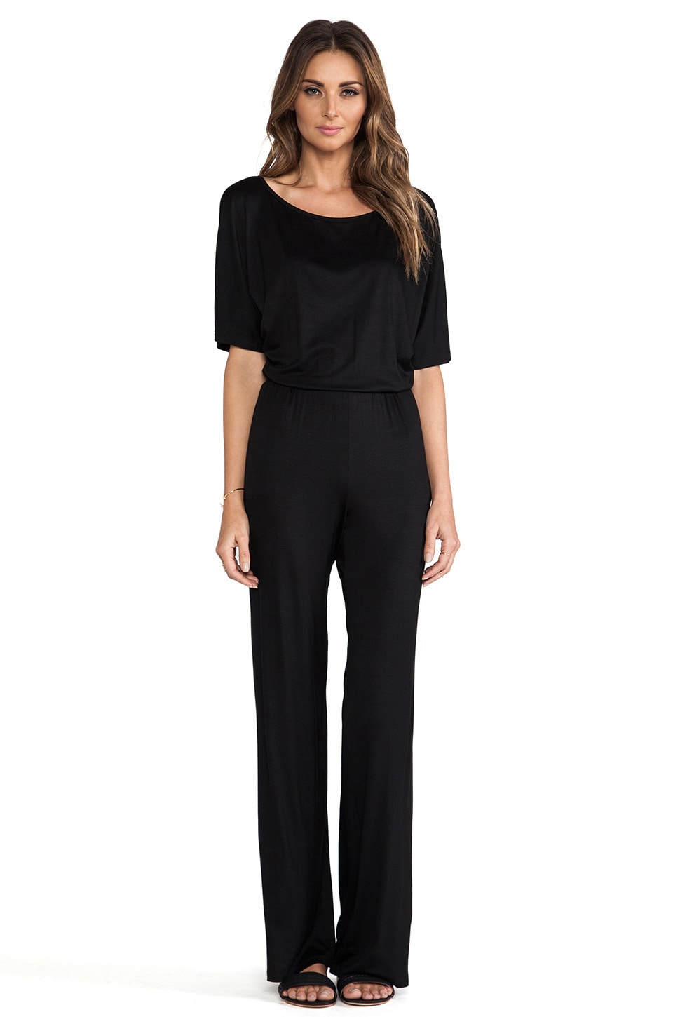 Trina Turk Malena Jumpsuit in Black