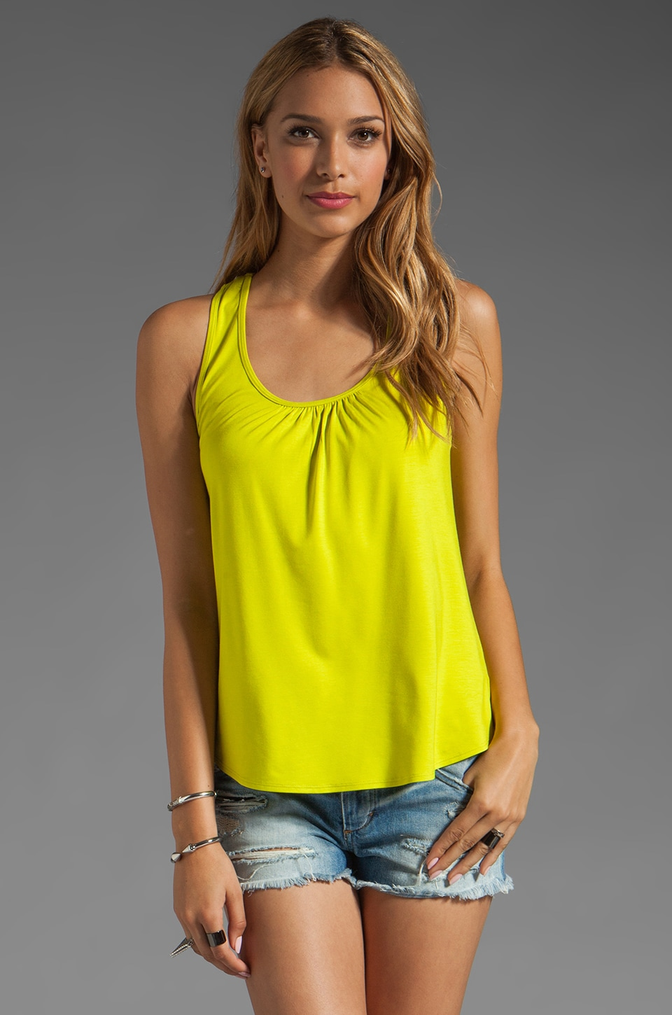 Trina Turk Brady Top in Glowstick