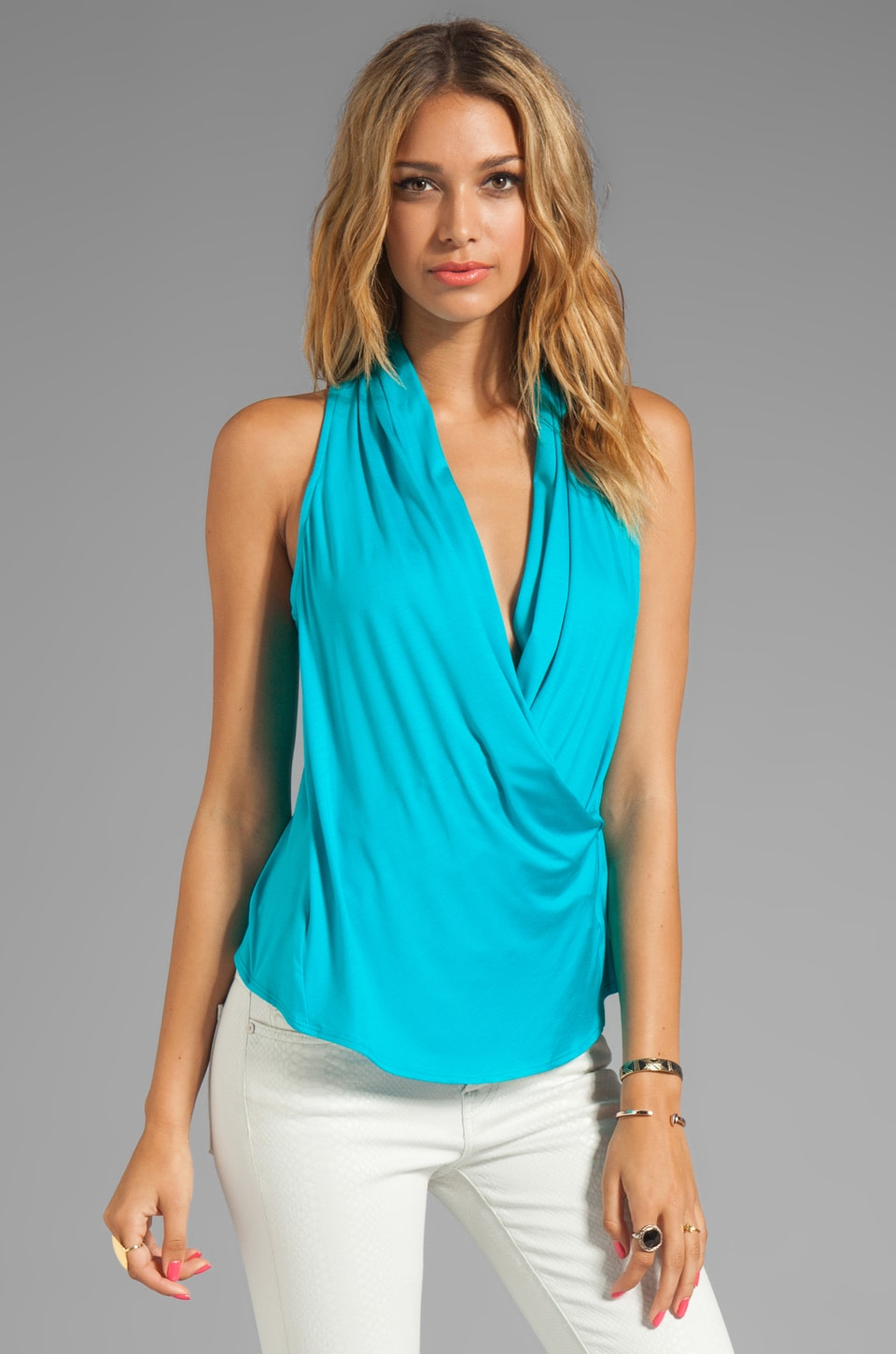 Trina Turk Must Have Jersey Alps Top in Surfrider