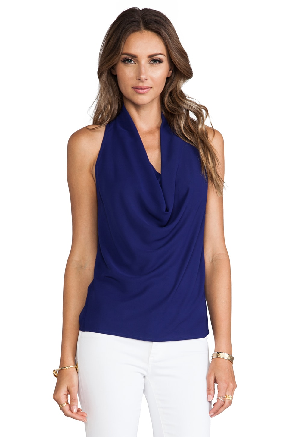 Trina Turk Raissa Top in Ultramarine