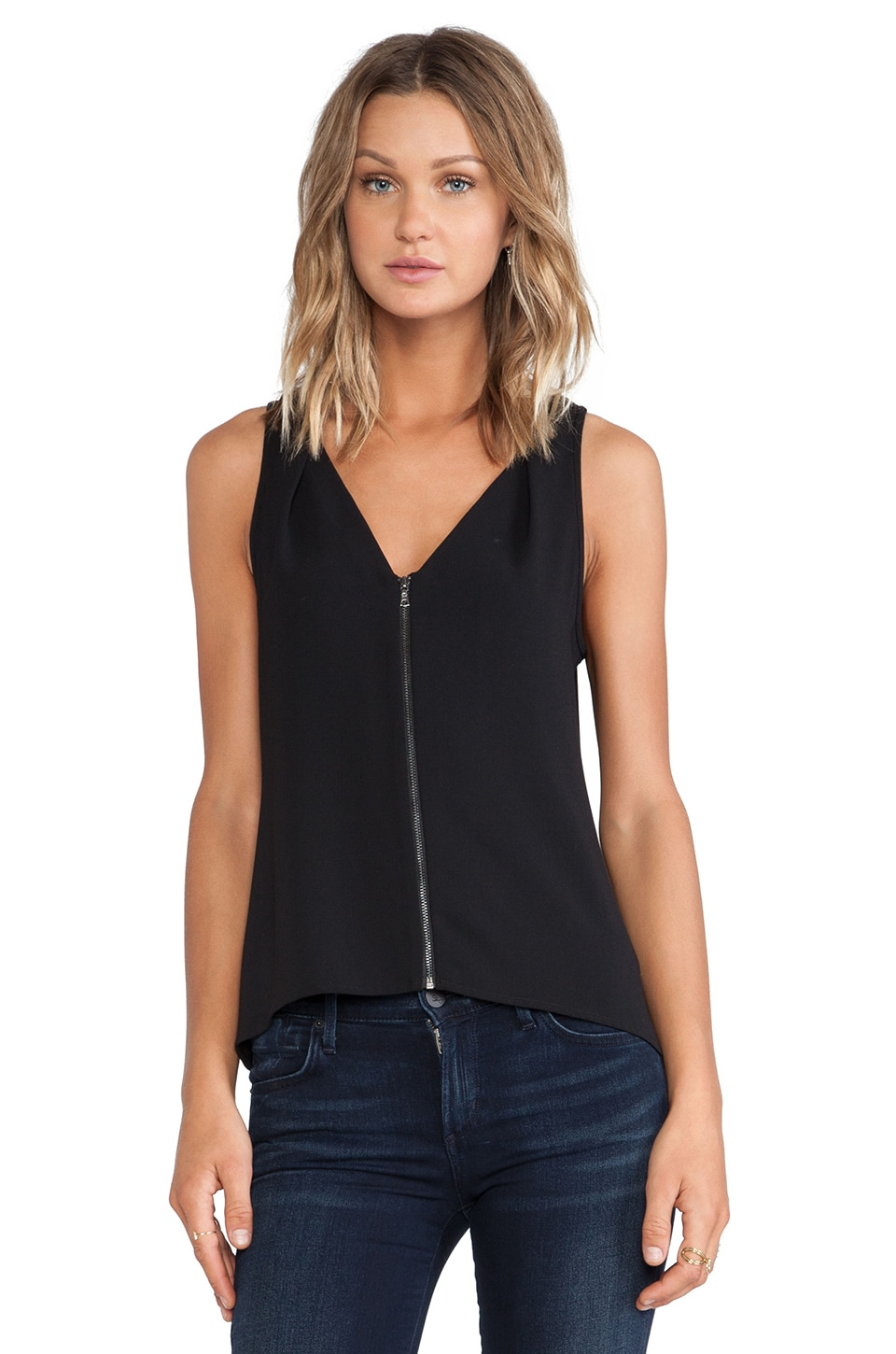Trina Turk Banning Top in Black
