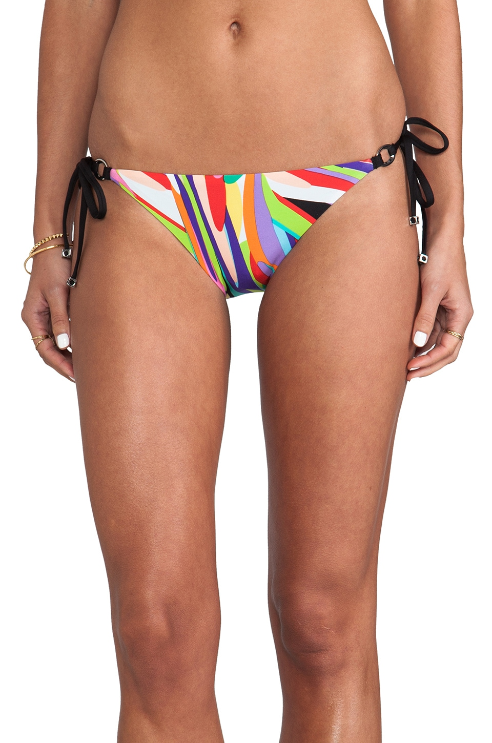 Trina Turk Prisma Tie Side Bikini Bottoms in Multi
