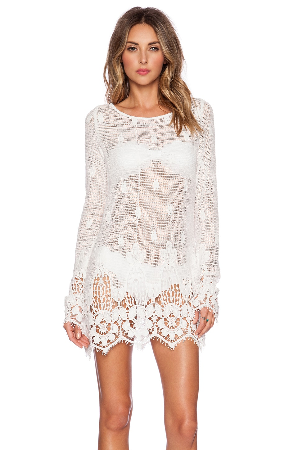 Tt Beach Beau Dress in White