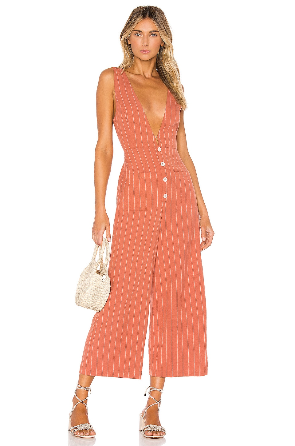 Tularosa Frankie Jumpsuit in Clay