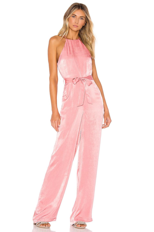 Tularosa Penelope Jumpsuit in Mauve Pink