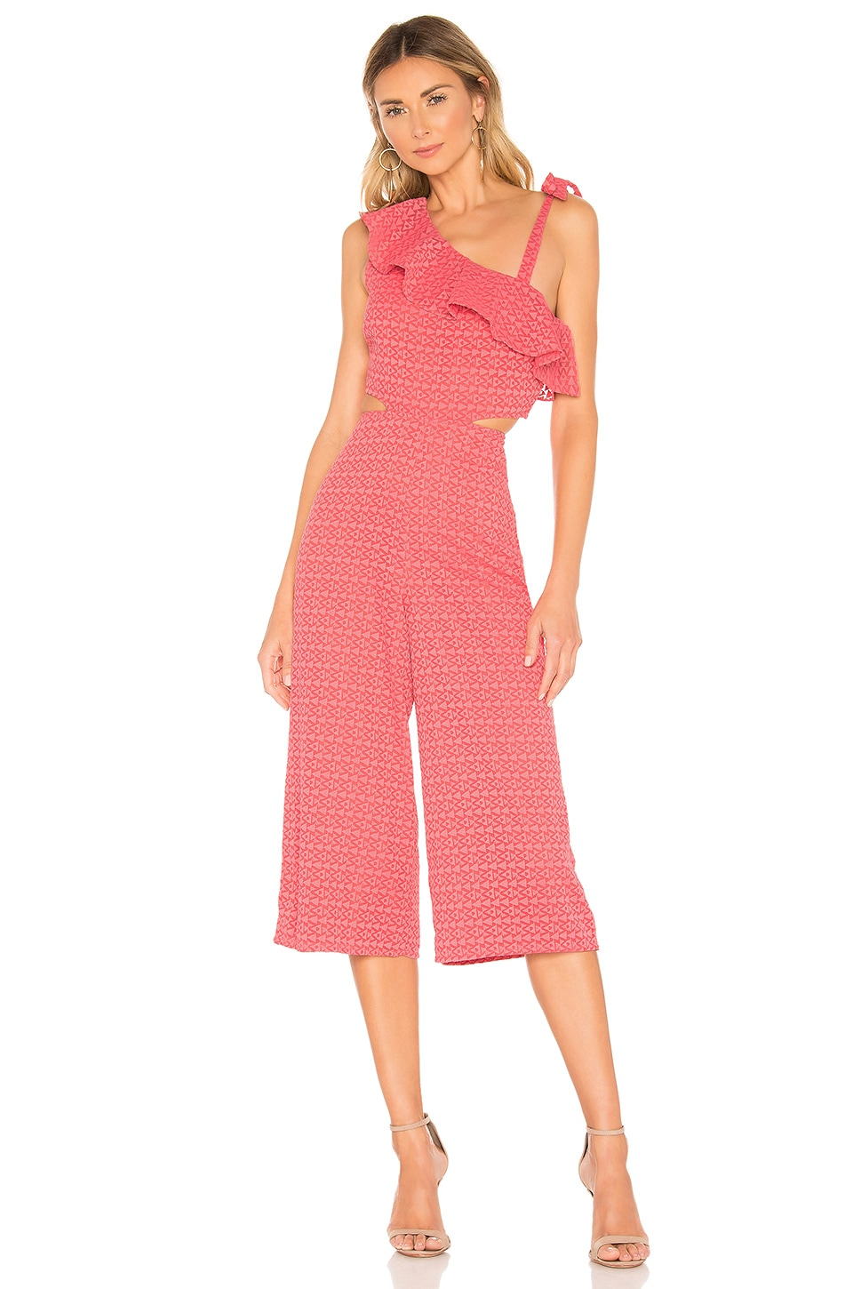 Tularosa Belle Jumpsuit in Coral