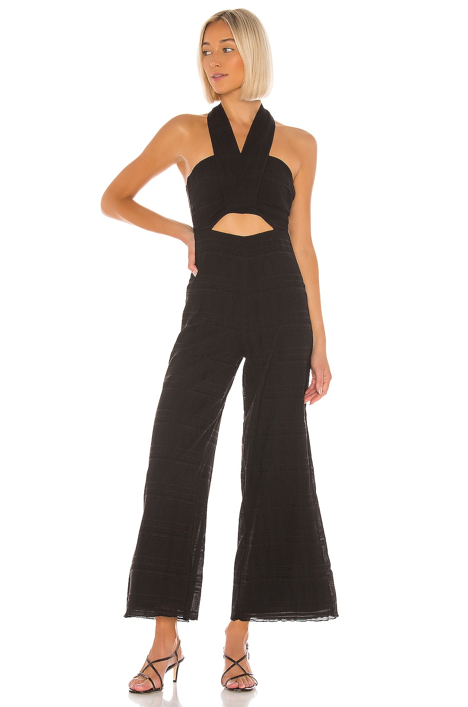 Tularosa Kris Jumpsuit in Black