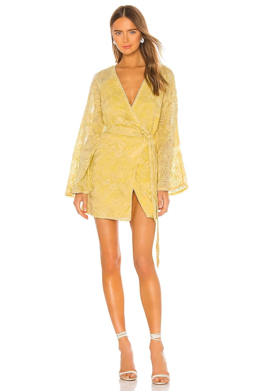 Tularosa Robin Dress in Lemon Drop