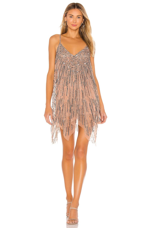 Tularosa Naiya Mini Dress in Nude