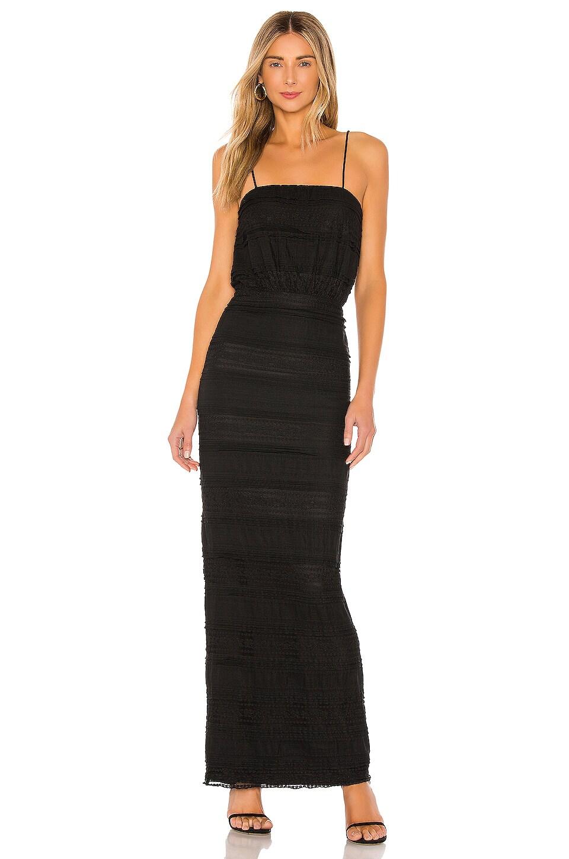 Tularosa Josiah Dress in Black