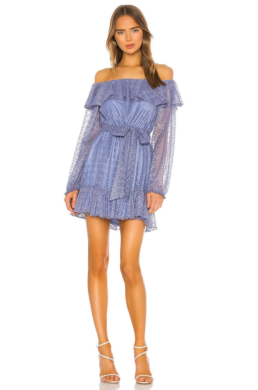Tularosa Zeely Dress in Blue Sapphire