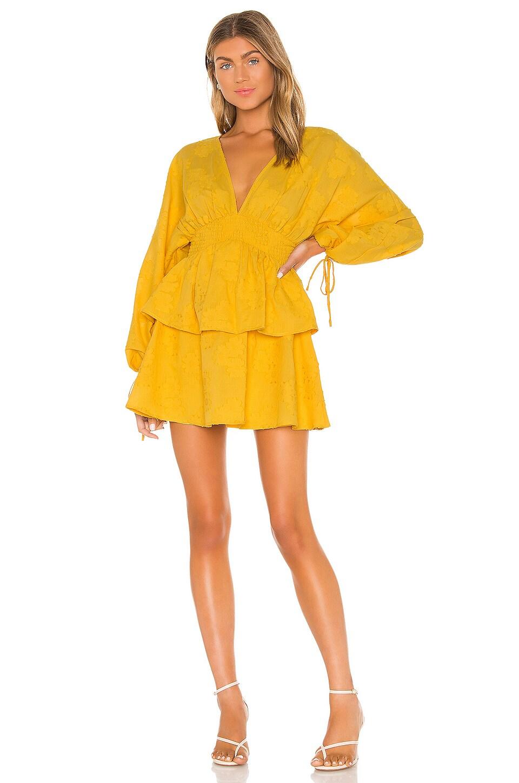 Tularosa Marvista Dress in Marigold