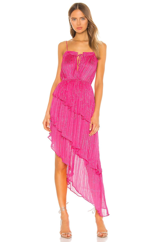 Tularosa Camille Dress in Raspberry Sorbet