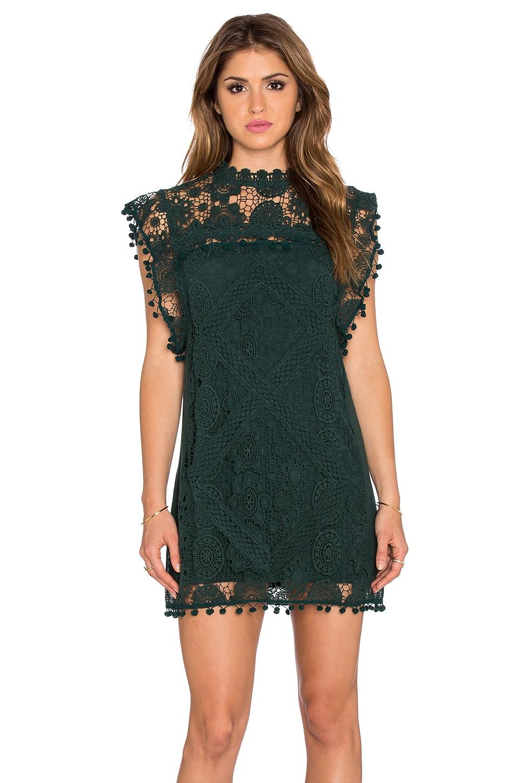 Tularosa x REVOLVE Clayton Tunic Dress in Hunter Green