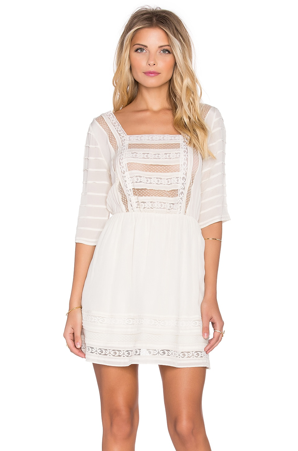 Tularosa Jolle Dress in Ivory