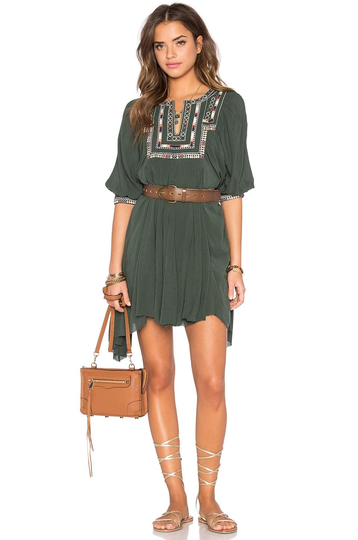 Tularosa Lennon Dress in Olive