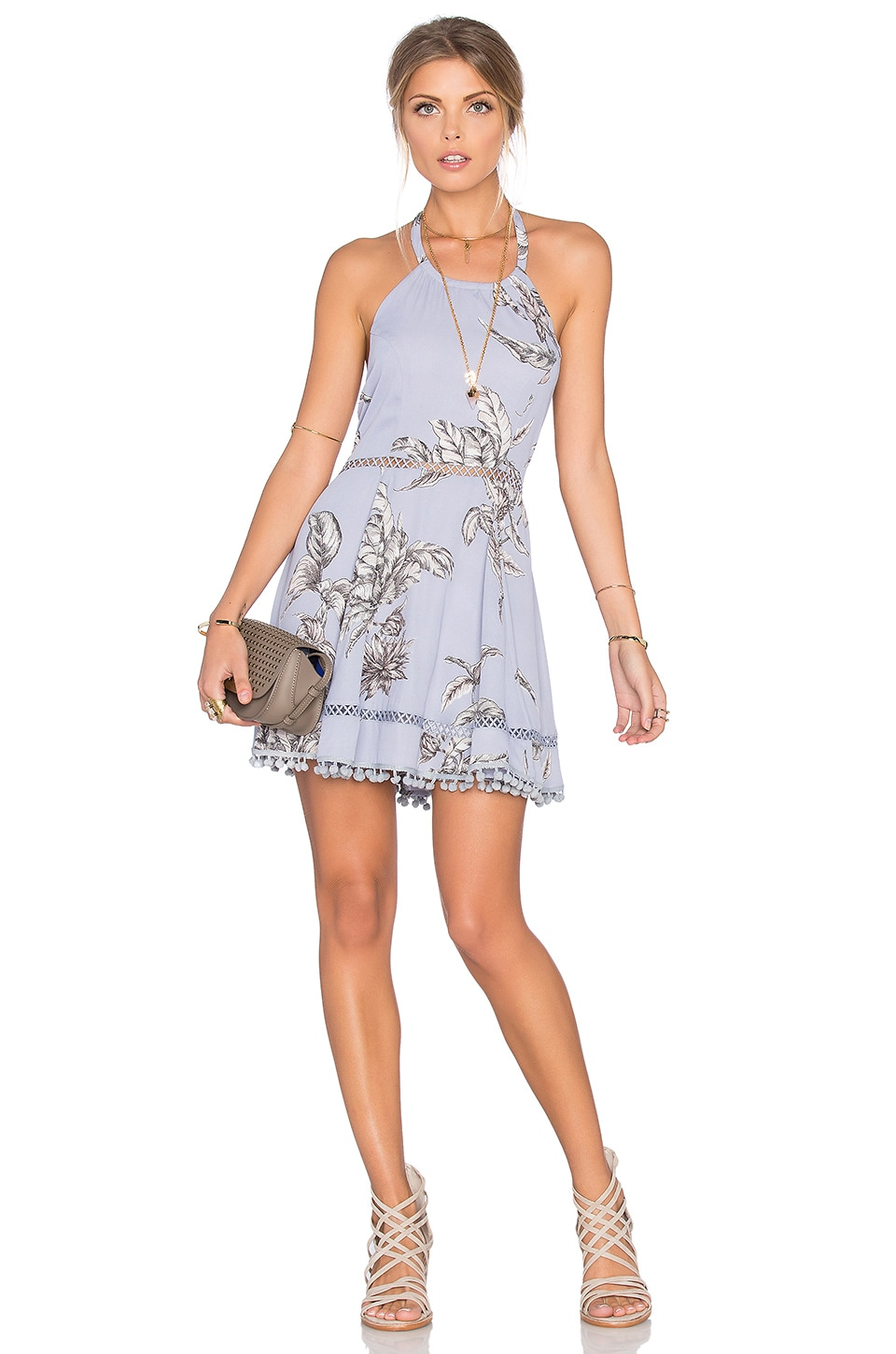 Tularosa Olivia Dress in Chambray