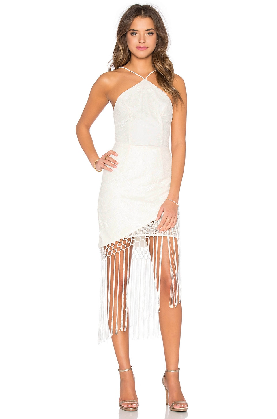 Tularosa x REVOLVE The Napa Dress in White