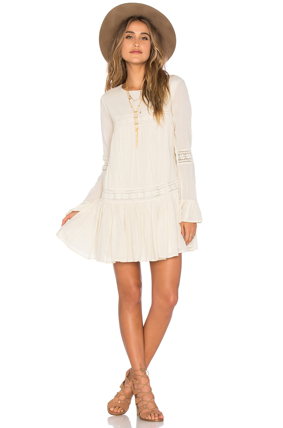 Tularosa Berkley Dress in Natural