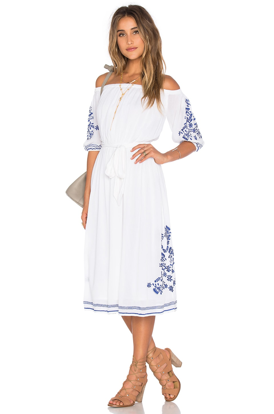 Lovely Things July 2016 - Revolve Tularosa Marty Midi Dress