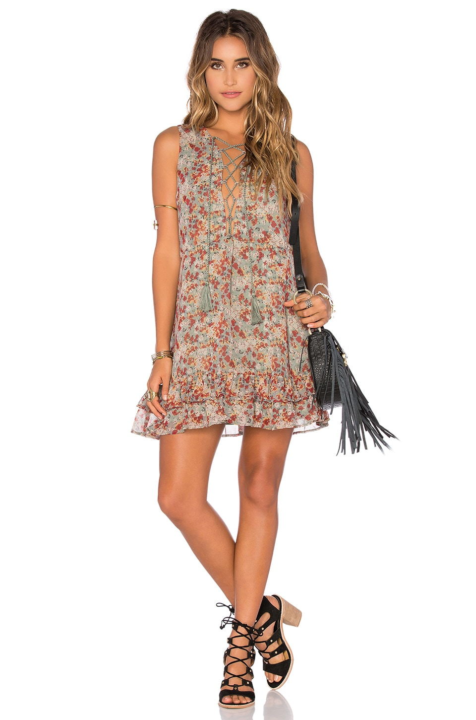 Tularosa x REVOLVE Adrienne Shift Dress in Spring Floral