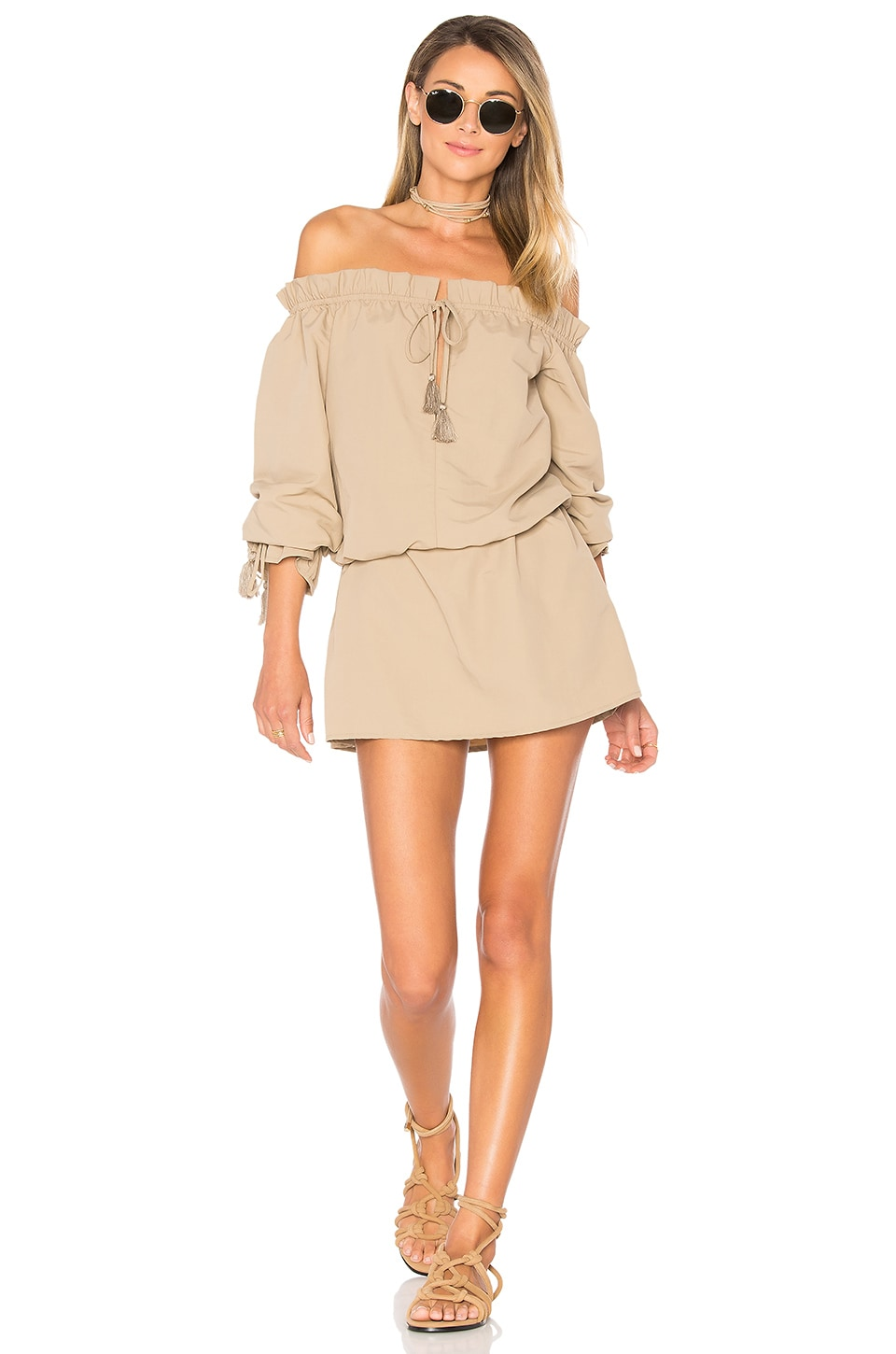 Tularosa x REVOLVE Falon Dress in Taupe