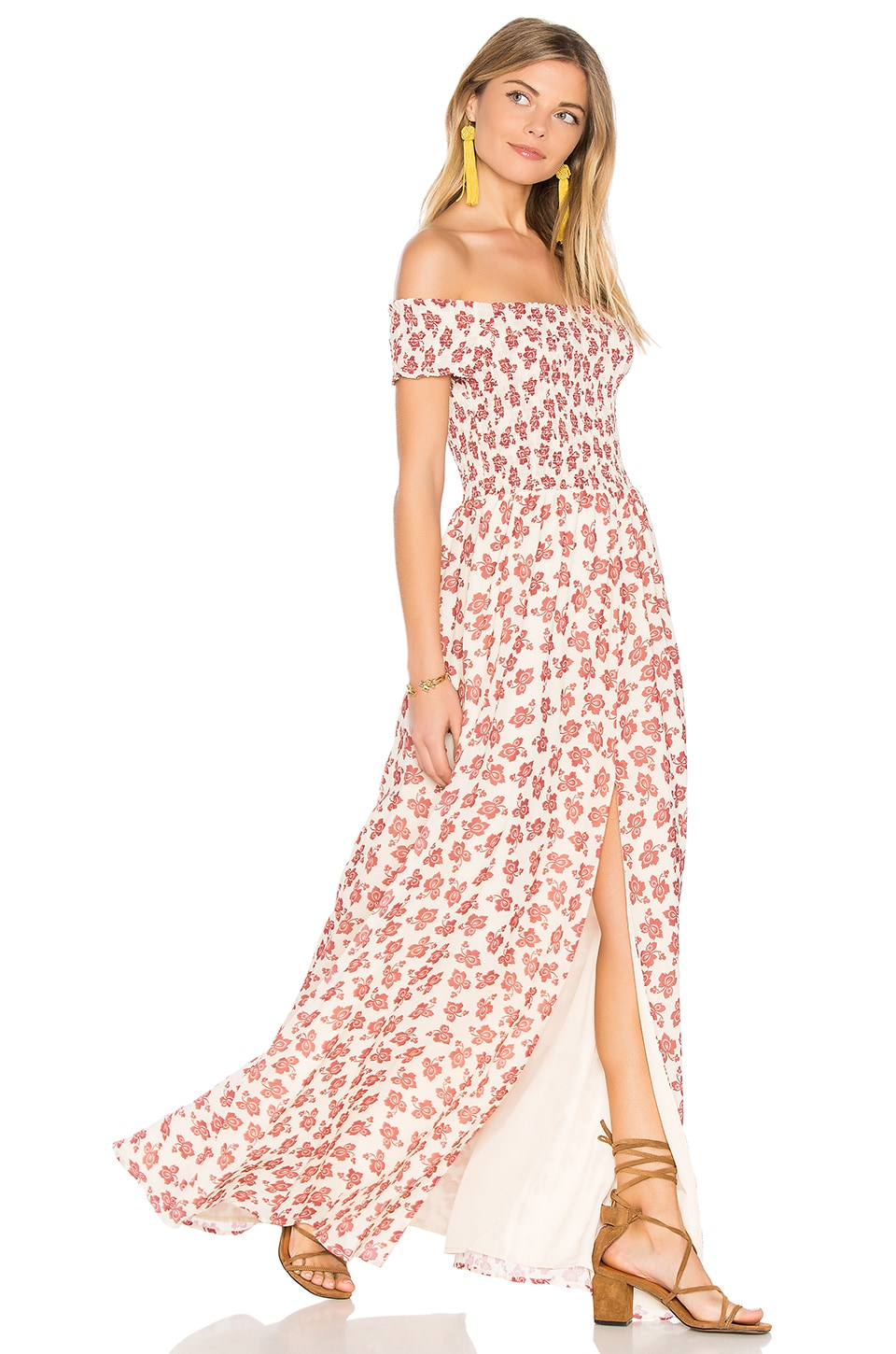 Tularosa Henderson Maxi Dress in Floral Paisley