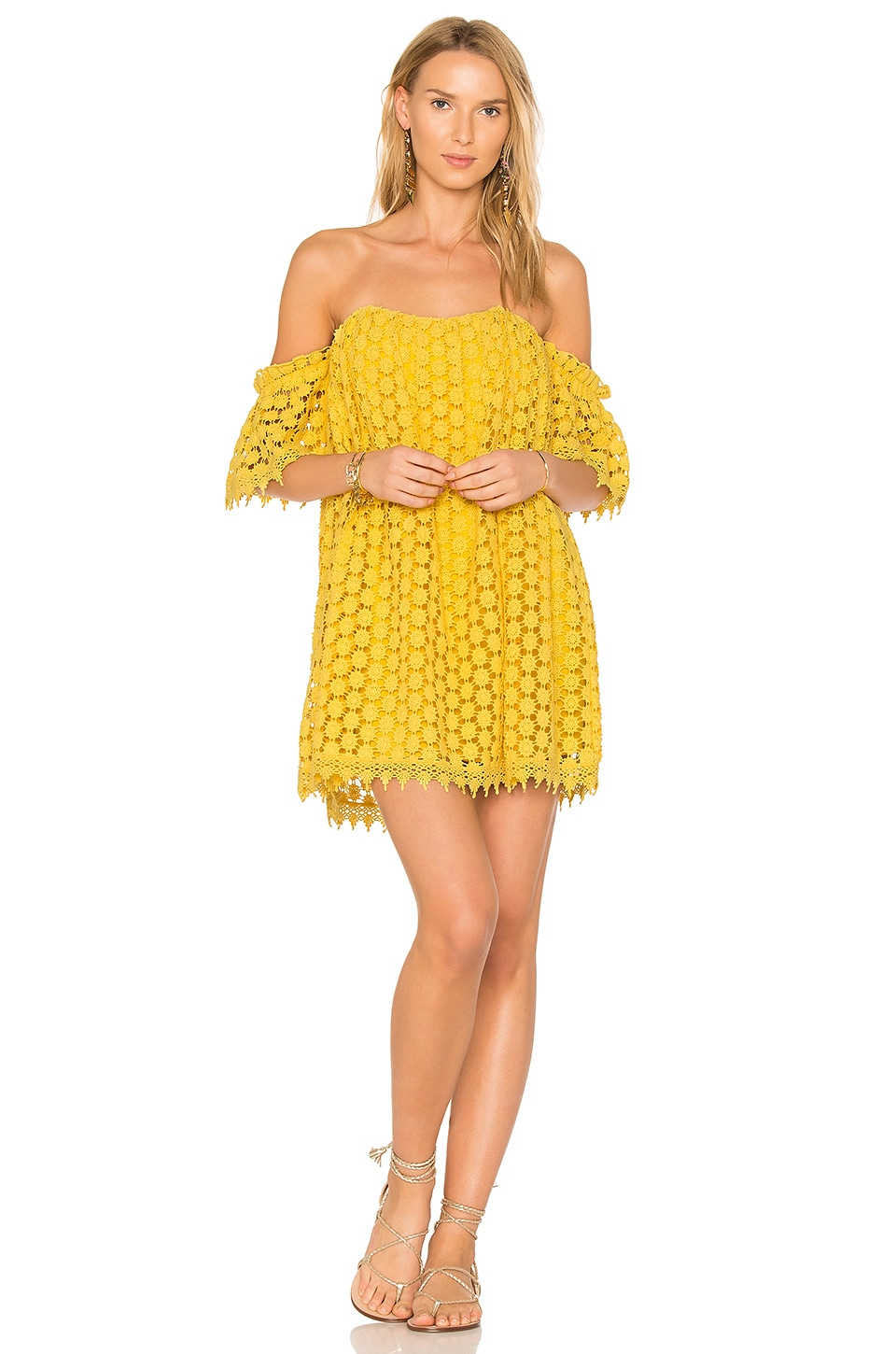 Tularosa x REVOLVE Amelia Dress in Canary Yellow