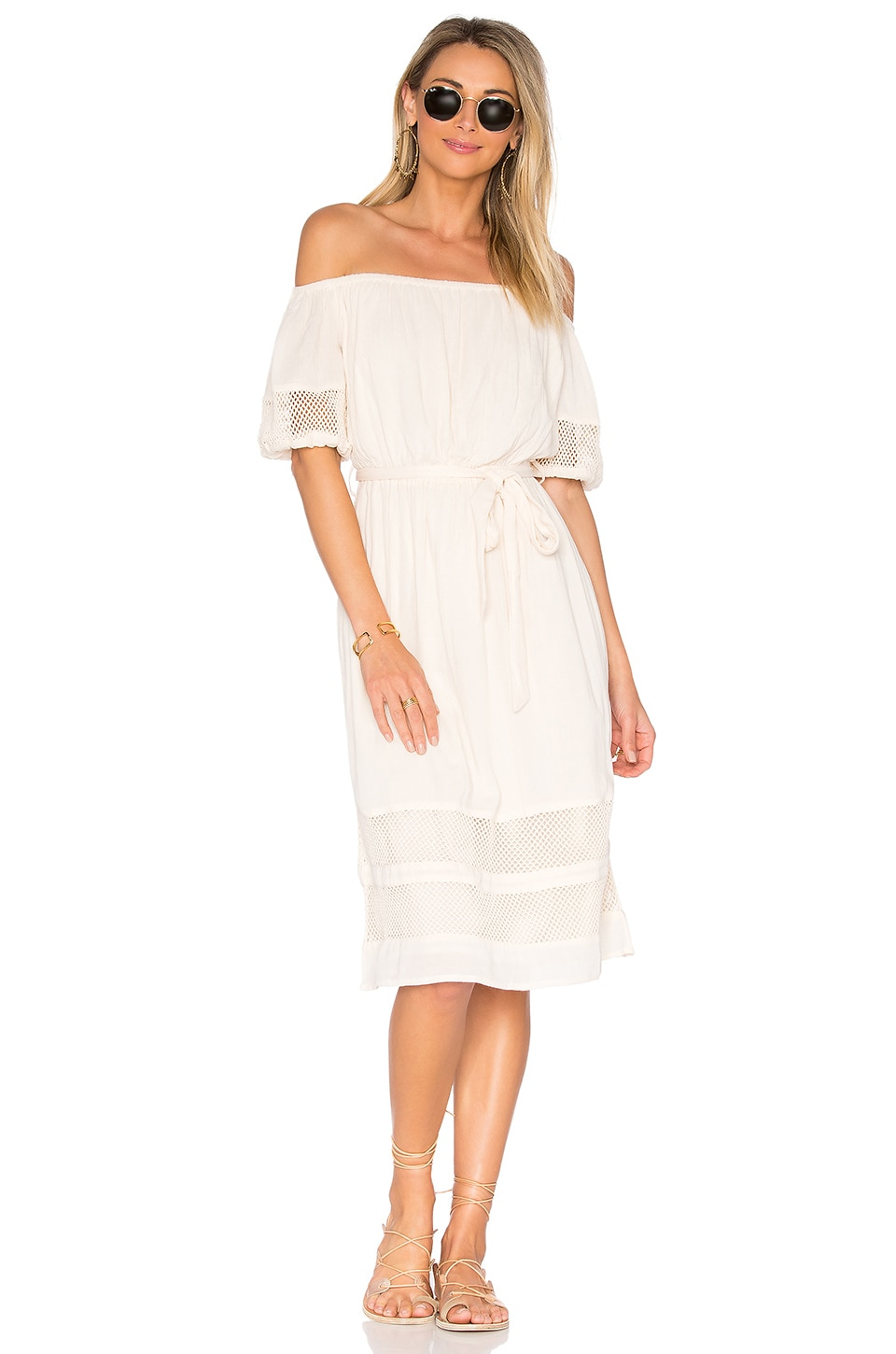 Tularosa Marty Midi in Creme