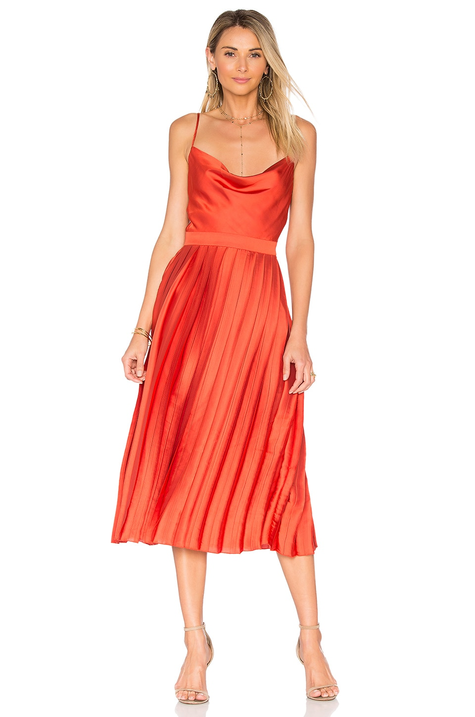 Tularosa x REVOLVE Mel Dress in Poppy