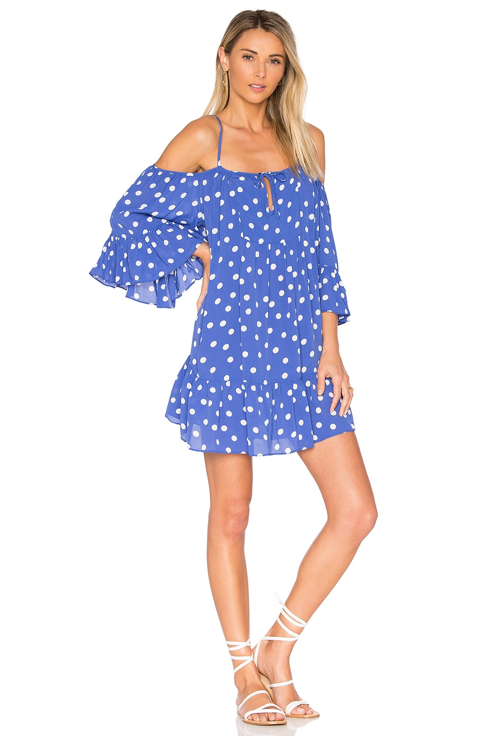 Tularosa x REVOLVE Hattie Dress in Robin Dot