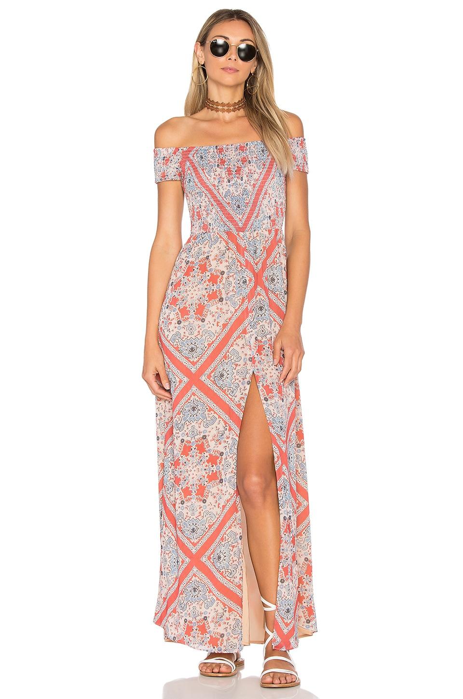 Tularosa Henderson Maxi Dress in Bandana Scarf