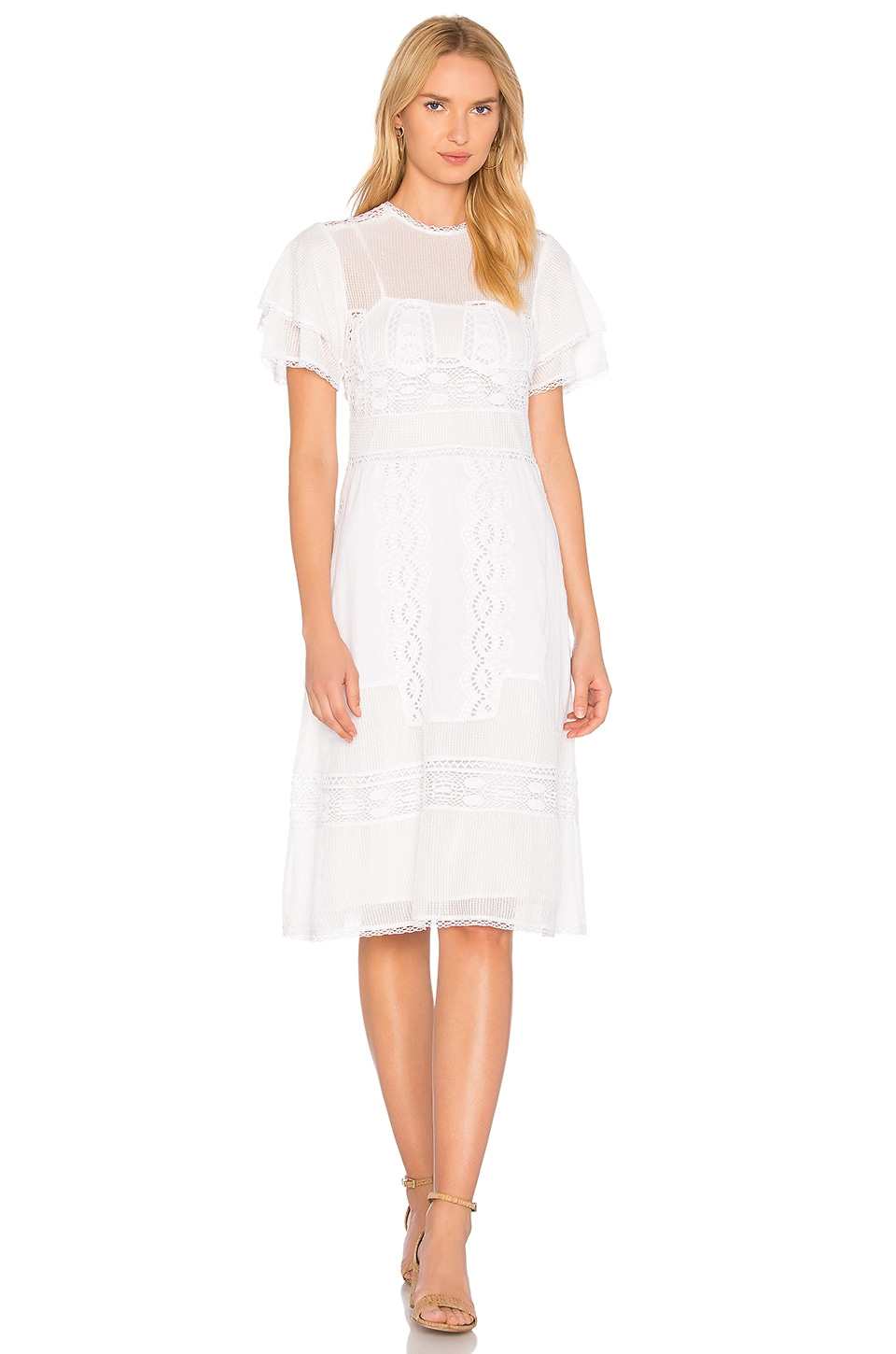 Tularosa Neil Dress in Cloud