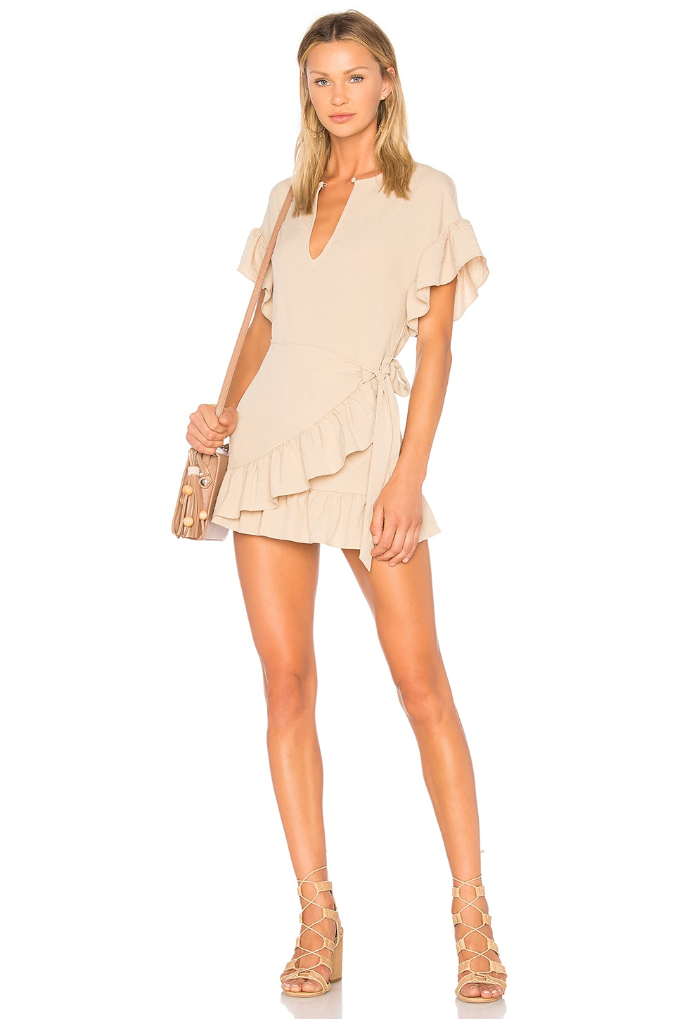Tularosa x REVOLVE Jenny Dress in Camel