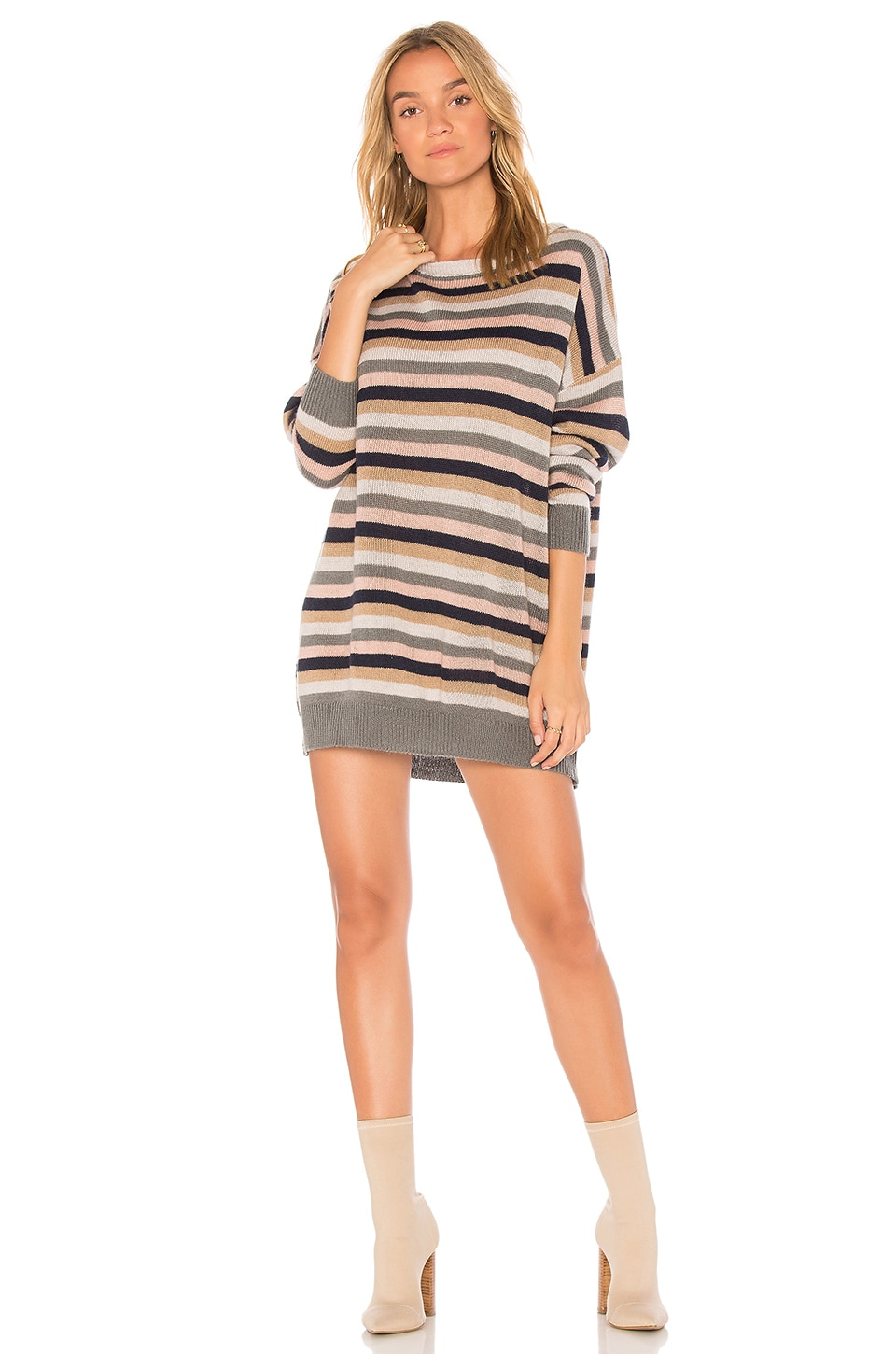 Tularosa Hamptons Dress in Stripe