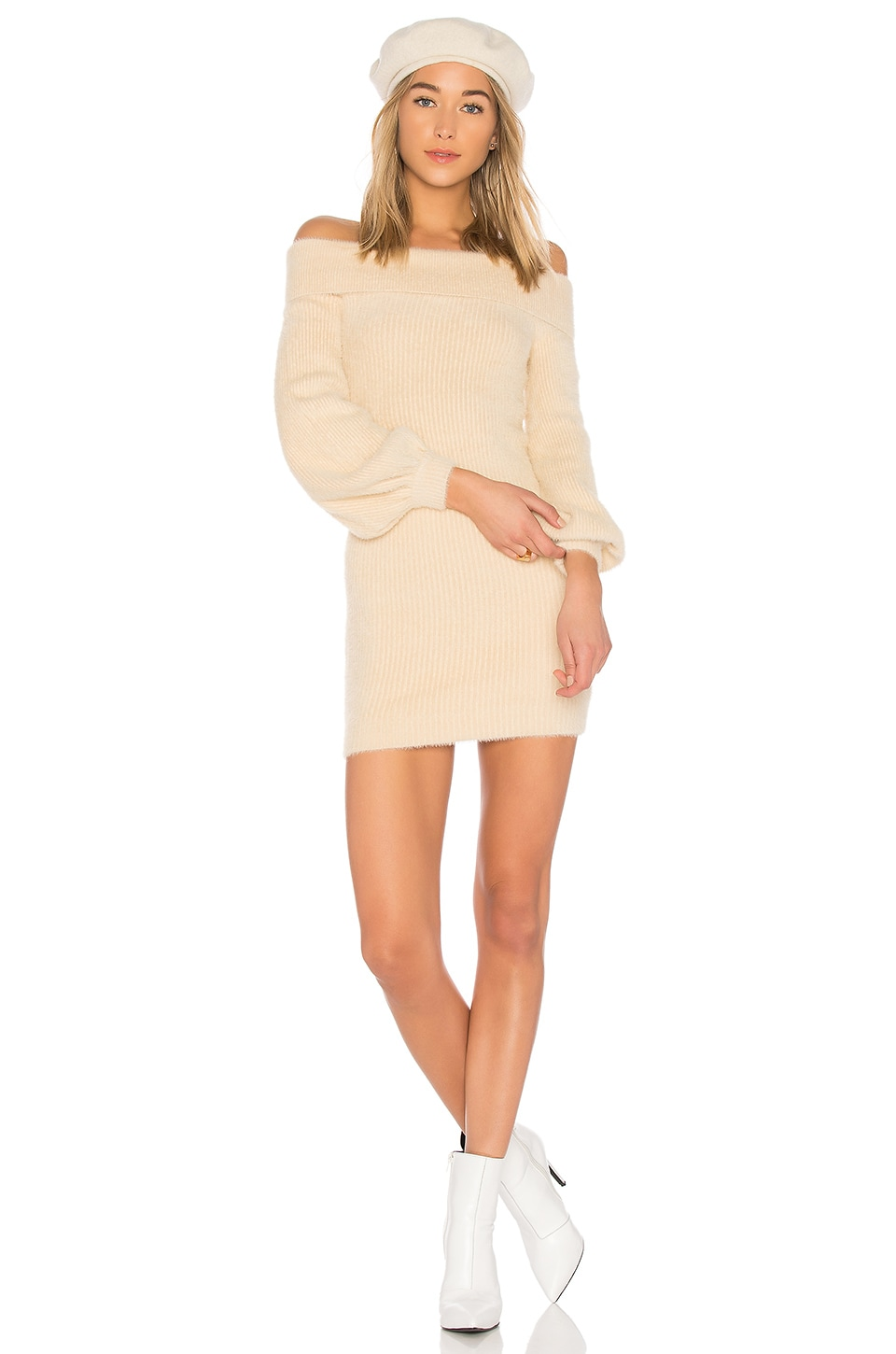 Tularosa Gramercy Dress in Ivory