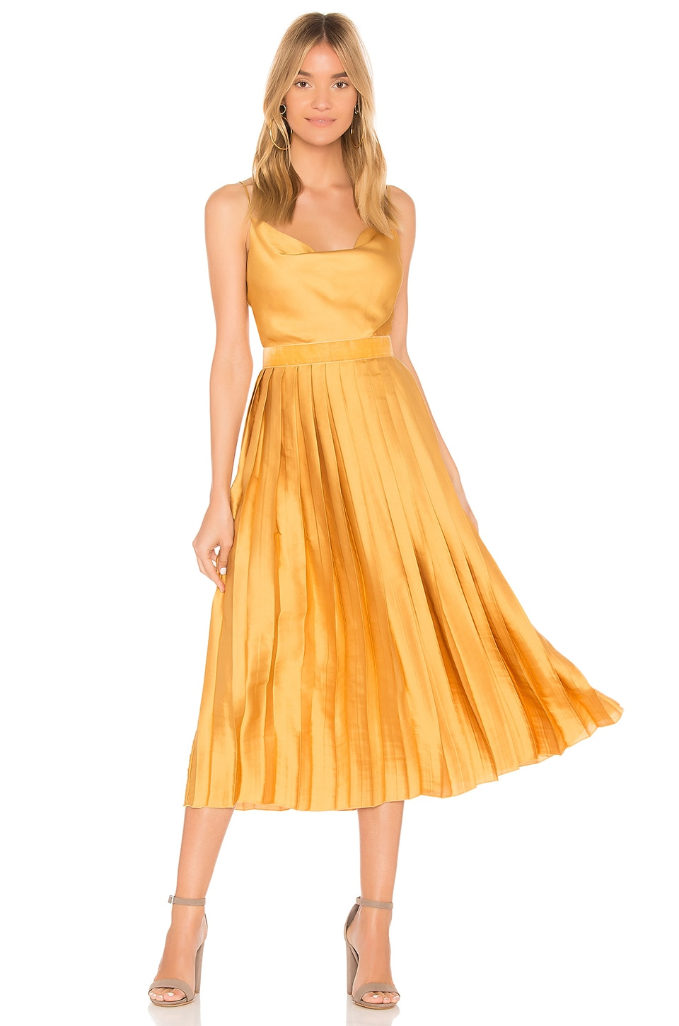 Tularosa Mel Dress in Marigold