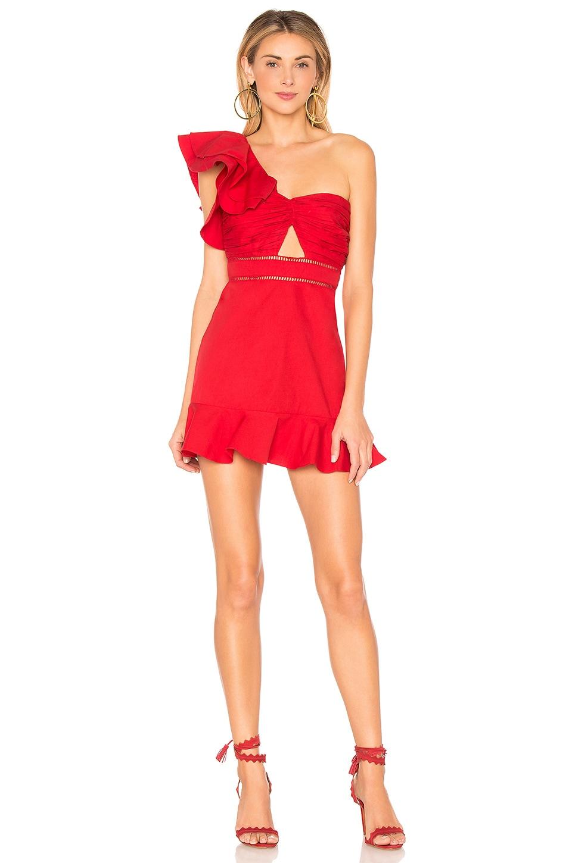 Tularosa Marina Dress in Poppy