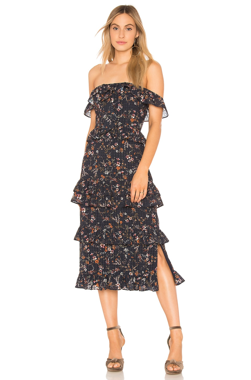 Tularosa Lily Dress in Burlingame Floral