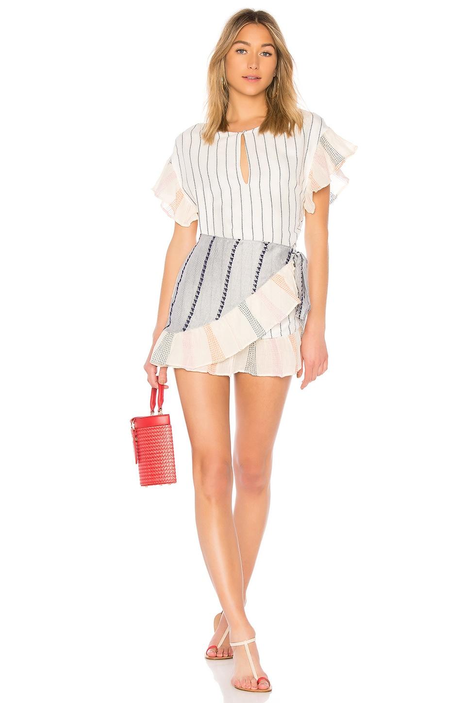 Tularosa Jenny Dress in Calmar Stripe