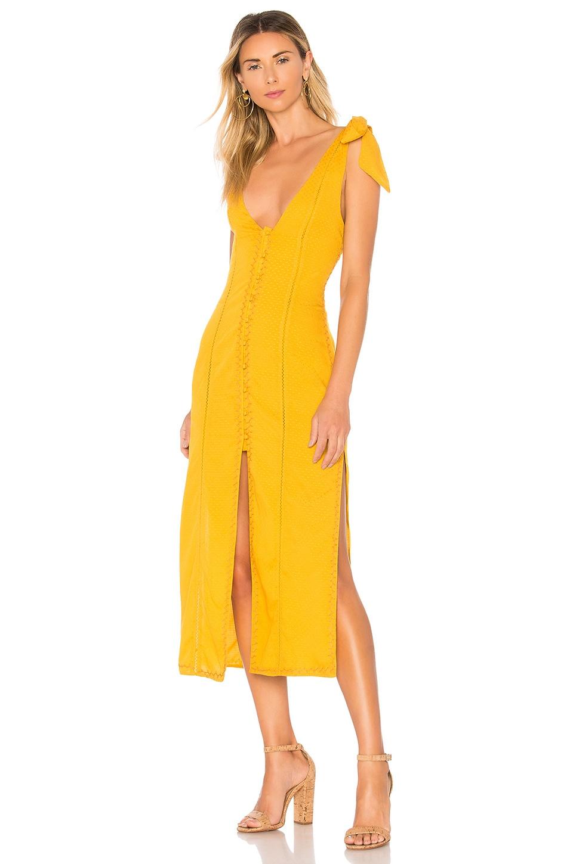 Tularosa Birdie Dress in Ginger