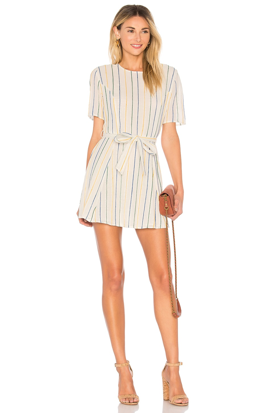 Tularosa Iris Dress in Ellis Stripe
