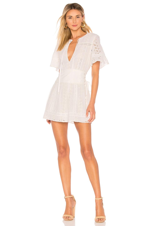 Tularosa Hannah Dress in Ivory