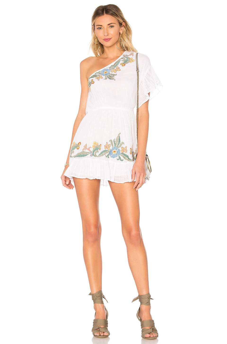 Chrissy Dress in White. - size M (also in L,S,XS) Tularosa