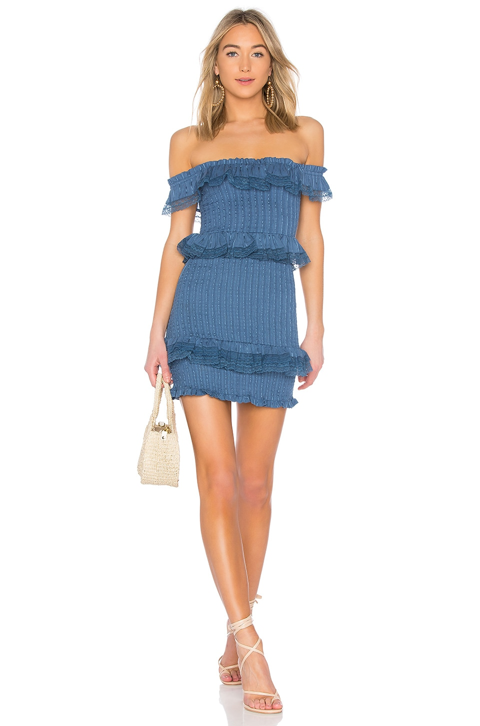 Tularosa Teri Dress in Horizon Blue