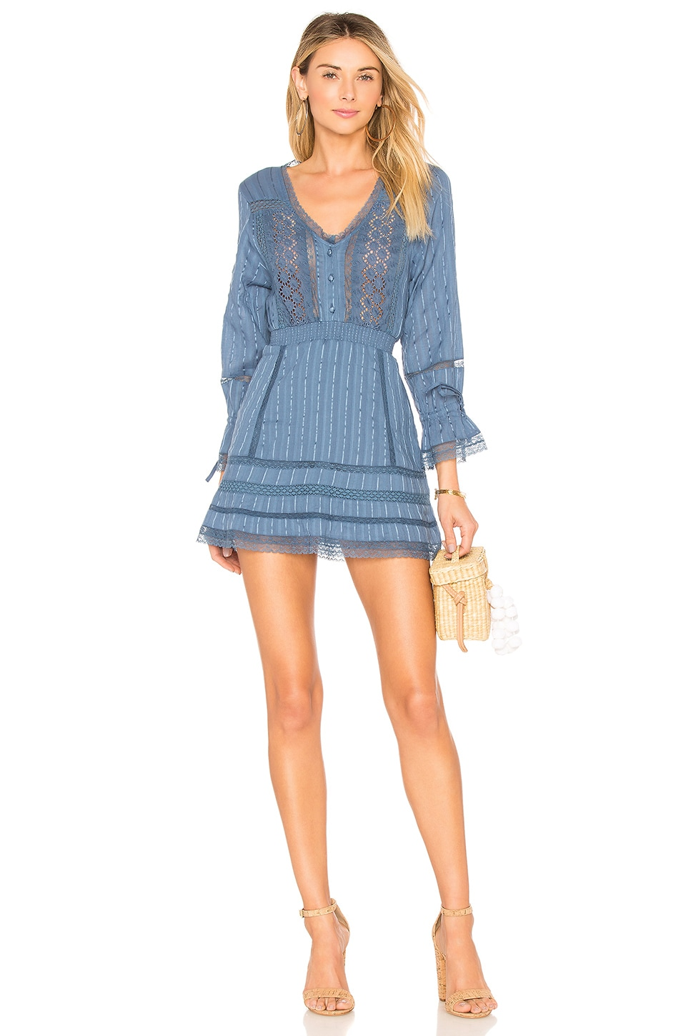 Tularosa Payton Dress in Horizon Blue