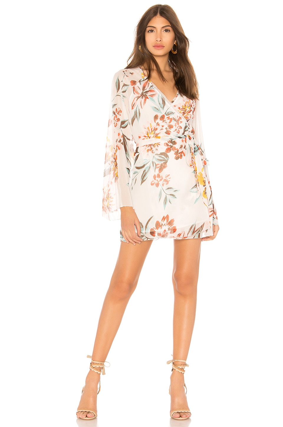 Tularosa Robin Dress in Dahlia Floral