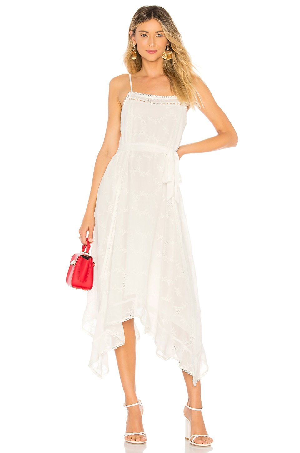 Tularosa Maxine Dress in Ivory